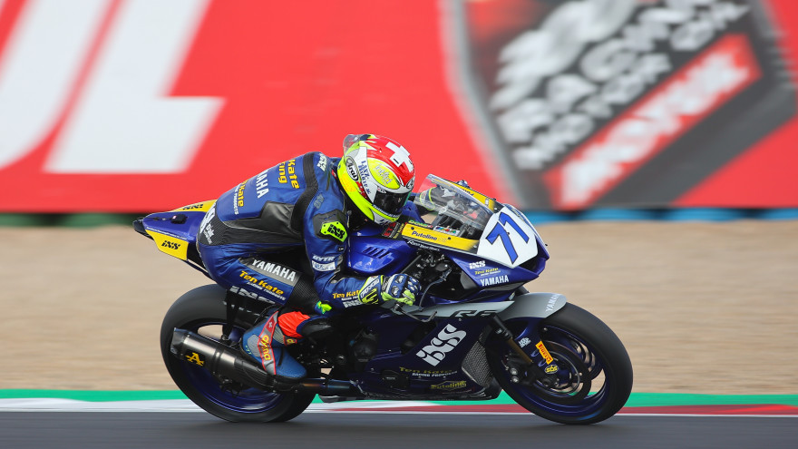 Dominique Aegerter, Ten Kate Racing Yamaha, Magny-Cours FP2