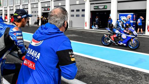 Toprak Razgatlioglu, Pata Yamaha with Brixx WorldSBK, Magny-Cours FP2