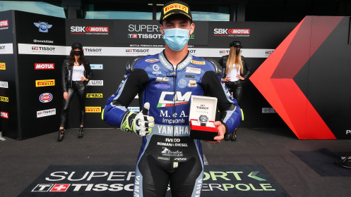 Luca Bernardi, CM Racing, Magny-Cours Superpole