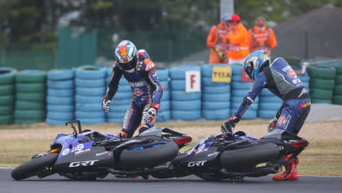 Garrett Gerloff, Kohta Nozane, GRT Yamaha, Magny-Cours FP3