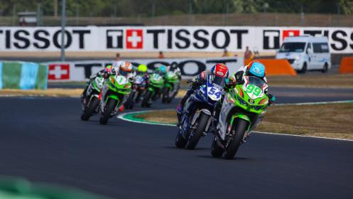 Adrian Huertas, MTM Kawasaki, Bahattin Sofuoglu, Biblion Yamaha Motoxracing, Magny-Cours RACE 1
