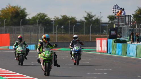 Adrian Huertas, MTM Kawasaki, Magny-Cours RACE 1