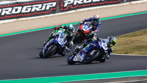 Federico Caricasulo, Biblion Iberica Yamaha Motorxracing, Magny-Cours RACE 1