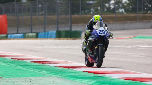 Luca Bernardi, CM Racing, Magny-Cours RACE 1