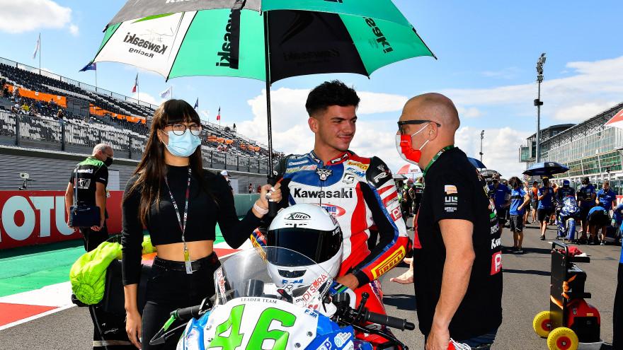Samuel Di Sora, Leader Team Flembbo, Magny-Cours RACE 1