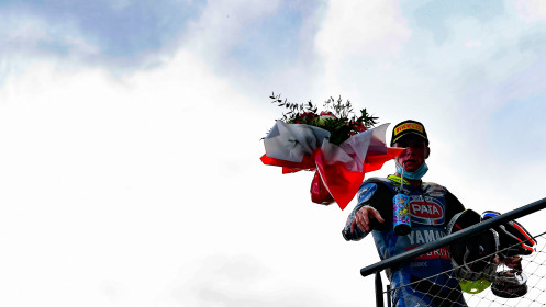 Andrea Locatelli, Pata Yamaha with Brixx WorldSBK, Magny-Cours RACE 1