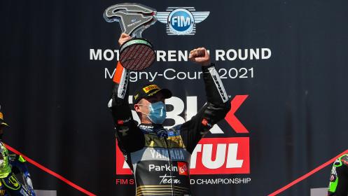 Manuel Gonzalez, Yamaha ParkinGo Team, Magny-Cours RACE 2