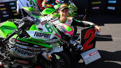 Tom Booth-Amos, Fusport - Rt Motorsports by SKM Kawasaki, Magny-Cours RACE 2