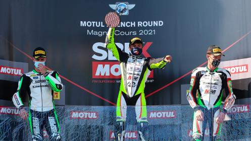 Adrian Huertas, MTM Kawasaki, Magny-Cours RACE 2
