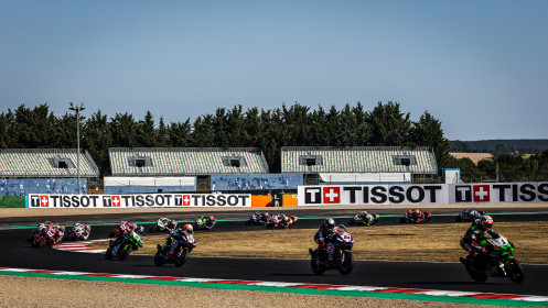 WorldSBK, Magny-Cours Tissot Superpole RACE