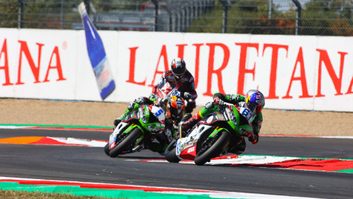 Can Alexander Oncu, Philipp Oettl, Kawasaki Puccetti Racing, Magny-Cours RACE 2