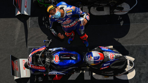 Toprak Razgatlioglu, Pata Yamaha with Brixx WorldSBK, Magny-Cours Tissot Superpole RACE