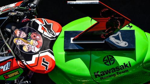 Jonathan Rea, Kawasaki Racing Team WorldSBK, Magny-Cours Superpole Race