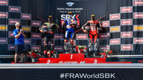 WorldSBK, Magny-Cours RACE 2