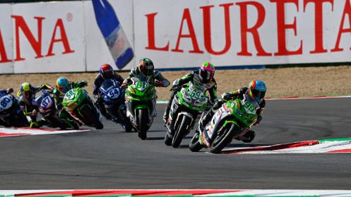 Adrian Huertas, MTM Kawasaki, Tom Booth-Amos, Fusport - Rt Motorsports by SKM Kawasaki, Magny-Cours RACE 2