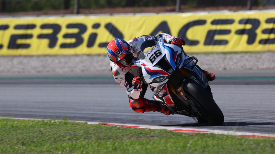 Tom Sykes, BMW Motorrad WorldSBK Team, Catalunya FP1