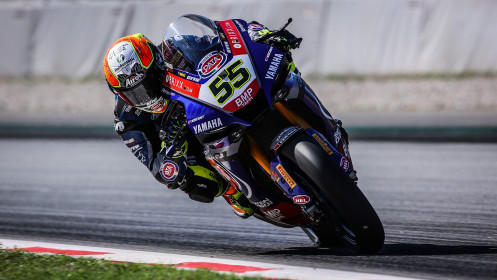 Andrea Locatelli, Pata Yamaha with Brixx WorldSBK, Catalunya FP2