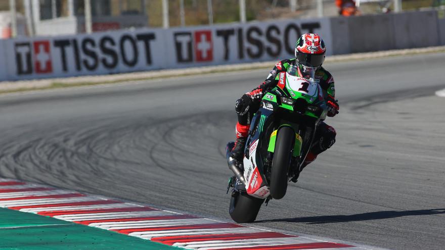 Jonathan Rea, Kawasaki Racing Team WorldSBK, CAtalunya FP1