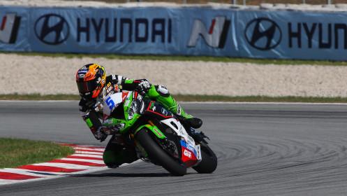 Philipp Oettl, Kawasaki Puccetti Racing, Catalunya FP2