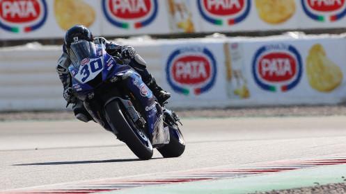 Andy Verdoia, GMT94 Yamaha, Catalunya FP2