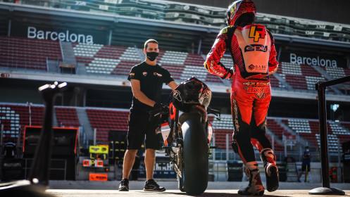 Axel Bassani, Motocorsa Racing, Catalunya FP2
