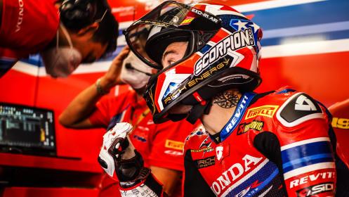Alvaro Bautista, Team HRC, Catalunya FP2