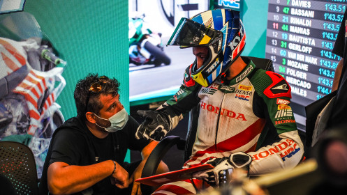Leandro Mercado, MIE Racing Honda Racing, Catalunya FP2