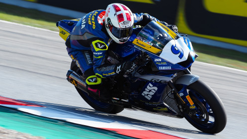 Simon Jespersen, Ten Kate Racing Yamaha, Catalunya FP2