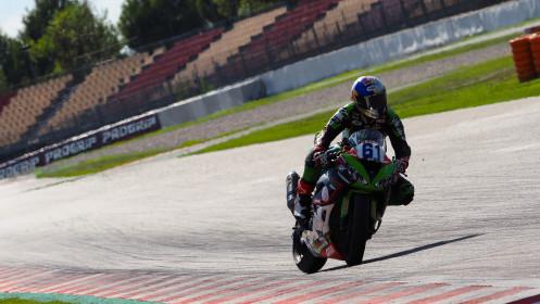 Can Alexander Oncu, Kawasaki Puccetti Racing, Catalunya FP2