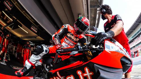 Michael Ruben Rinaldi, Aruba.it Racing - Ducati, Catalunya FP2