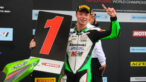 Jeffrey Buis, MTM Kawasaki, Catalunya RACE 1