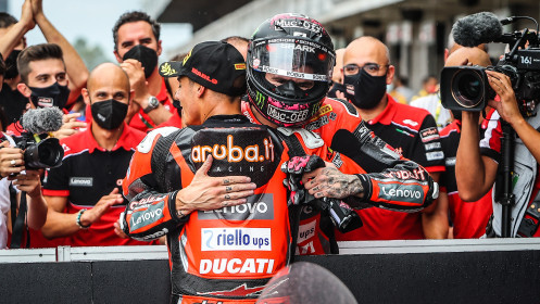 Scott Redding, Michael Ruben Rinaldi, Aruba.it Racing - Ducati, Catalunya RACE 1