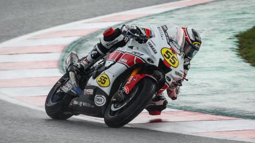 Andrea Locatelli, Pata Yamaha with Brixx WorldSBK, Catalunya RACE 1