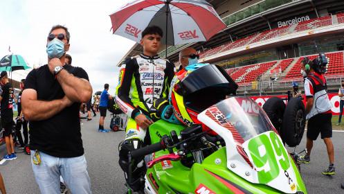 Adrian Huertas, MTM Kawasaki, Catalunya RACE 1