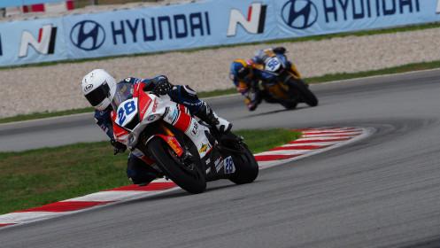Gleen Van Straalen, EAB Racing Team, Catalunya RACE 1