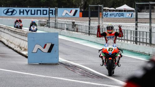 Axel Bassani, Motocorsa Racing, Catalunya RACE 1
