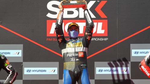 Manuel Gonzalez, Yamaha ParkinGo Team, Catalunya RACE 2