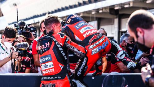 Scott Redding, Michael Ruben Rinaldi, Aruba.it Racing - Ducati, Catalunya RACE 2