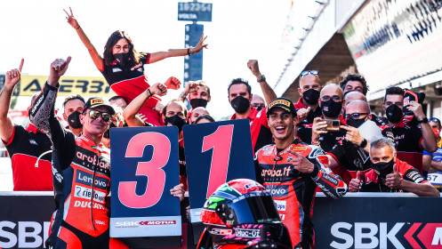 Michael Ruben Rinaldi, Scott Redding, Aruba.it Racing - Ducati, Catalunya RACE 2