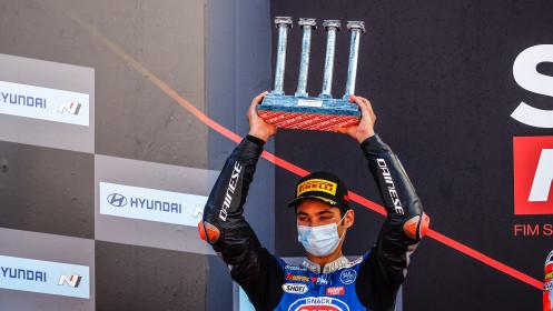 Toprak Razgatlioglu, Pata Yamaha with Brixx WorldSBK, Catalunya RACE 2
