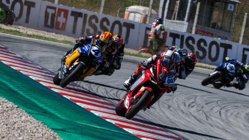 Niki Tuuli, MV Agusta Corse Clienti, Catalunya RACE 2