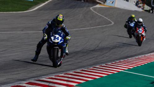 Federico Caricasulo, Biblion Iberica Yamaha Motorxracing, Catalunya RACE 2