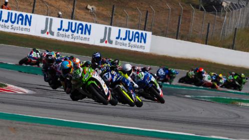 Adrian Huertas, MTM Kawasaki, Catalunya RACE 2