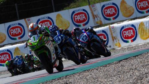 Jeffrey Buis, MTM Kawasaki, Catalunya RACE 2