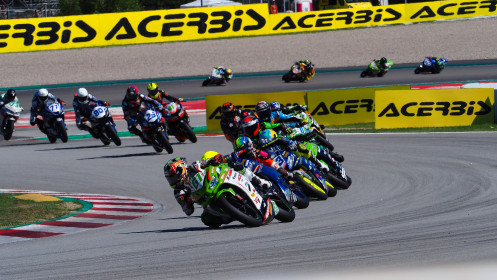 Yuta Okaya, MTM Kawasaki, Catalunya RACE 2