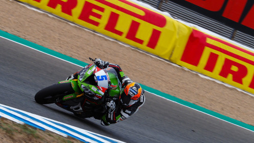 Philipp Oettl, Kawasaki Puccetti Racing, Jerez FP2