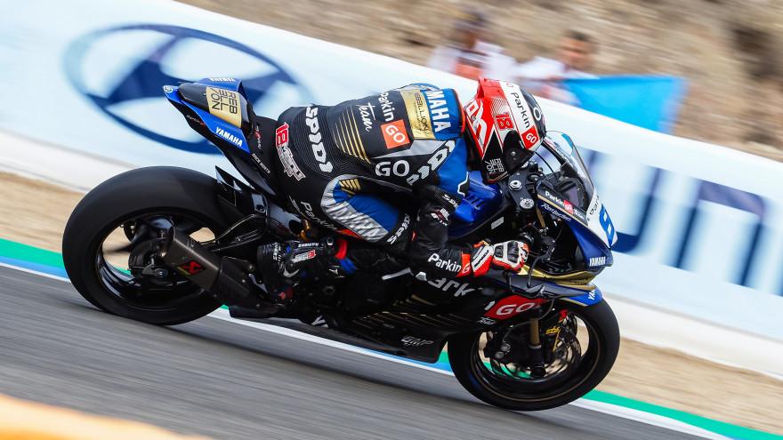 Manuel Gonzalez, Yamaha ParkinGo Team, Jerez FP1