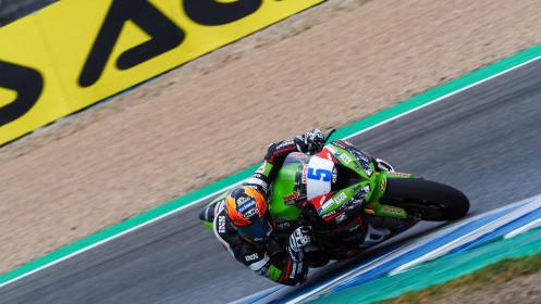 Phillip Oettl, Kawasaki Pucetti Racing, Jerez FP1