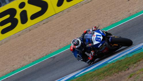 Manuel Gonzalez, Yamaha ParkinGo Team, Jerez FP2