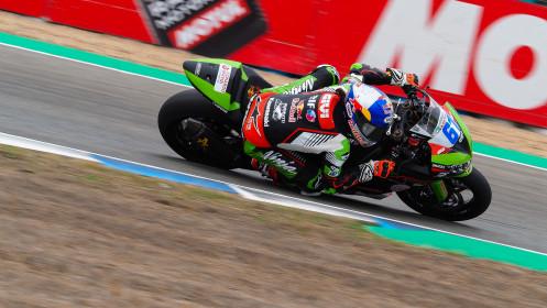 Can Alexander Oncu, Kawasaki Puccetti Racing, Jerez FP2
